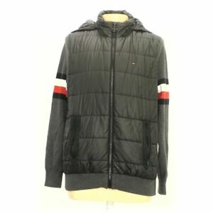 Tommy Hilfiger Men's Jacket size XL,  black, grey, red, white, blue/navy