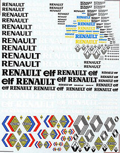 RENAULT-RENAULT-ELF-RENAULT-SPORT-SPONSOR-ARC-1-18-DECALCOMANIA