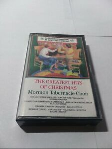 MORMON-TABERNACLE-CHOIR-THE-GREATEST-HITS-OF-CHRISTMAS-CASSETTE-T1-rare
