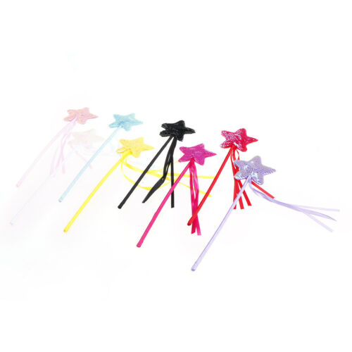 Cute Five pointed Star Fairy Wand Magic Stick Girl Party Princess Favor JKCA