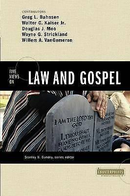 1 of 1 - Five Views on Law and Gospel by Douglas J. Moo, Walter C. Kaiser, Wayne G. St...