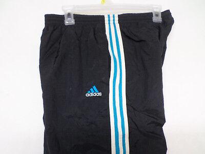 9c618f60f6dd Adidas Lined Athletic Pants Elastic Cuffs Men s Size M