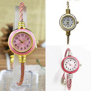 Women-039-s-Casual-Steel-Wire-Quartz-Analog-Bracelet-Bangle-Wrist-Watch-Ornate