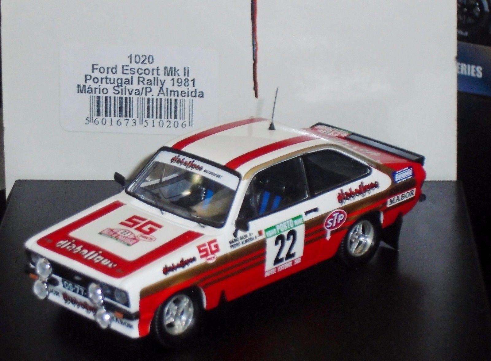 ventas de salida Ford Escort MK2 comparo Portugal Rally Rally Rally 1981  22 M. Silva Trofeu 1020 1 43  buena reputación