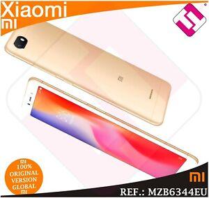 TELEFONO-MOVIL-XIAOMI-REDMI-6A-GOLD-16GB-ROM-2GB-RAM-SMARTPHONE-GLOBAL-COLOR-ORO