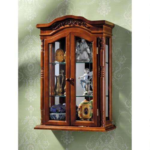 Antique Replica Brown Display Case