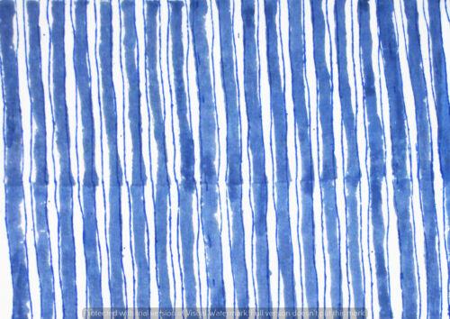 Indian Sanganeri Vintage Cotton Hand Block Print Fabric Running Natural Printed