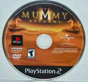 The-Mummy-Returns-Sony-PlayStation-2-2001-PS2-Video-Game-MINT
