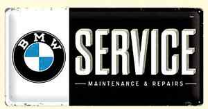 BMW-Service-Metallschild-500mm-X-250mm-Na