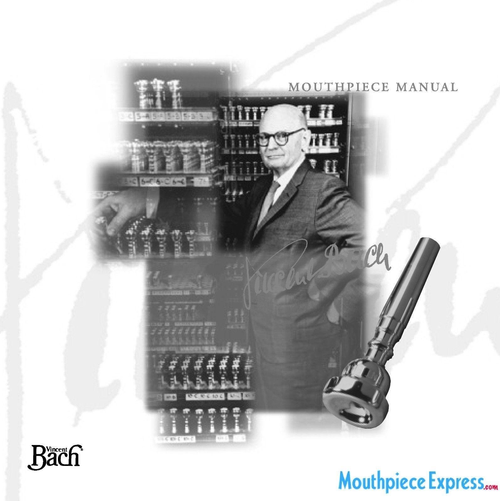 Genuine NEW 24K GOLD Bach 3E Trumpet Mouthpiece #117 Backbore /& #27 Throat