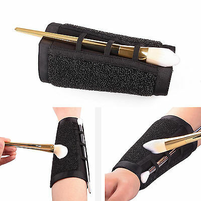 DIY Arm Proband Wearable Solo Sponge Color Remover Cleaner Dry Brush Makeup Tool