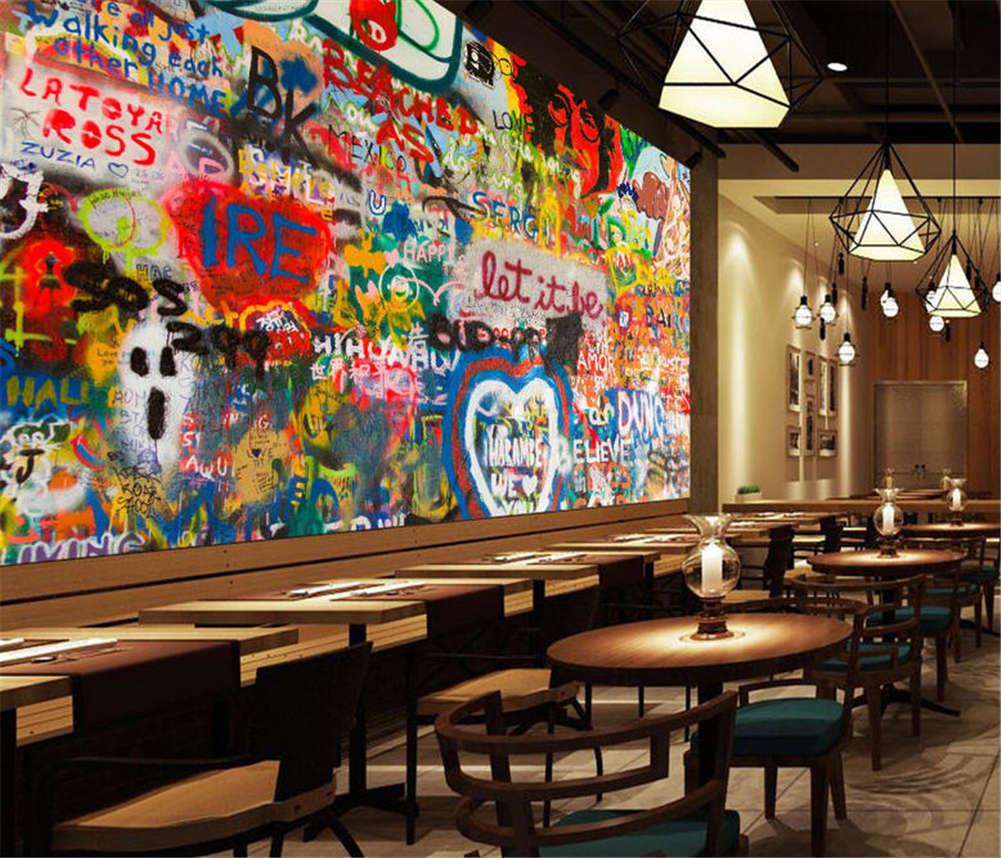 Simple Vivid Drawing 3D Full Wall Mural Photo Wallpaper Printing Home Kids Decor