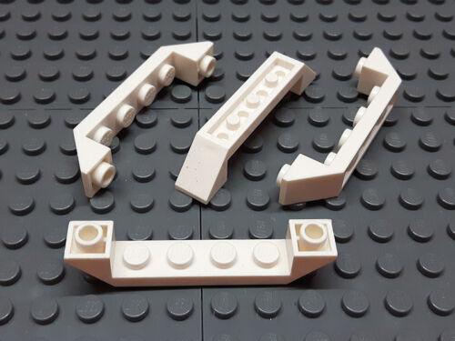 4259937 Lego Schrägstein invertiert 6 x 1 45° Weiß 4 Stück