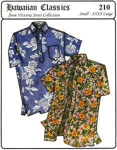 Hawaiian Button Down & Pullover Aloha Shirt S-4XL Victoria Jones ...