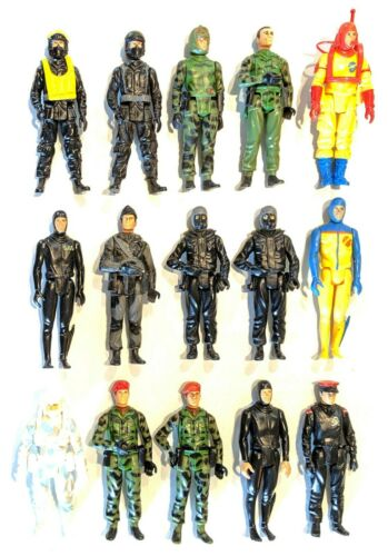 CHOOSE: Vintage 1982/1983 UK Action Force * Palitoy * Combine Shipping!