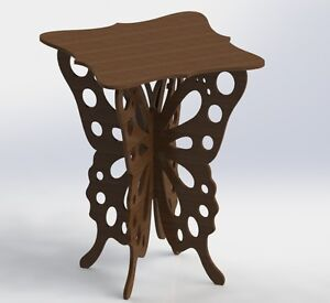 Details about Vectors DXF Files Butterfly Table For CNC Router And Laser  Aspire ArtCAM VCarve