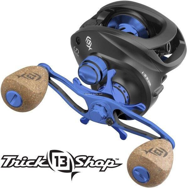 Uno Nuevo 3 13 Kit de Cocherete de pesca máquina de medianoche (sólo Kit) Negro Azul tskit - 6