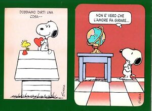 Anniversario Matrimonio Snoopy.Biglietto Auguri Vintage Anni 80 Schulz Snoopy Linus Brown Ebay