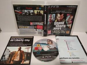 GTA-IV-Episodes-of-Liberty-City-Jeu-PS3-PAL-francais-Comme-neuf-Complet