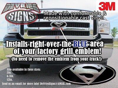 Acquista A Buon Mercato Poly-coated Superman Ford Emblema Sovrapposto 3m™ F-150 Super Duty Made In Usa!