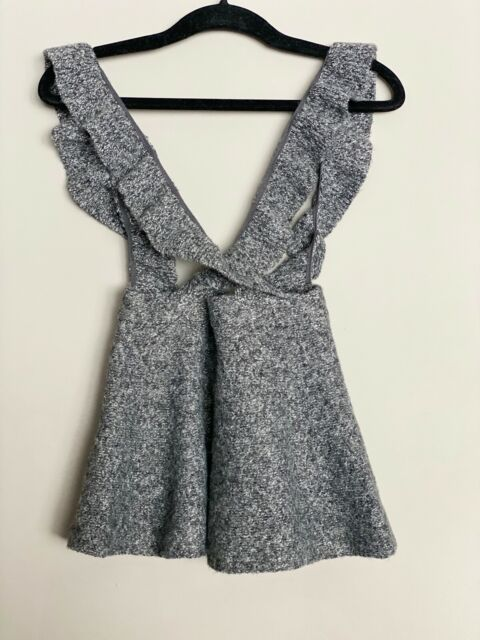 Zara Baby. Ruffle Knit jumper 18-24 months, gray   eBay