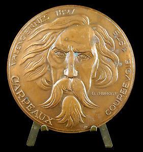 Medaille-num-10-100-Jean-Baptiste-Carpeaux-sculpteur-amp-peintre-Thurotte-Medal