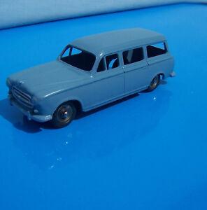 Dinky Peugeot 403 U5 - Édition originale de jouets français originaux, Cat n ° 24f,