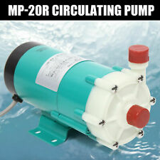 Industrial Mp 20r Chemical Magnetic Drive Circulation Water Pump 17lmin 110v Us