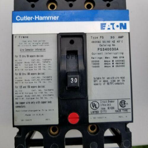 Cutler Hammer FS340030A 30 Amp
