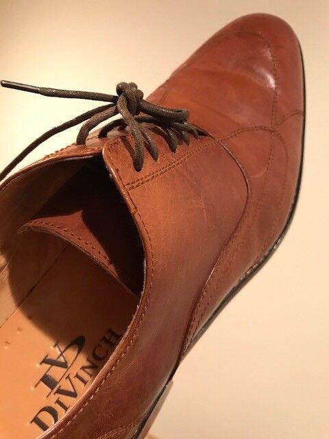 DiVinch Italian Hand Made Men's Leather shoes Dress EU44 US11