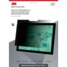 3m Privacy Filter For Microsoft Surface Pro 3 / Pro 4 - Landscape Black -