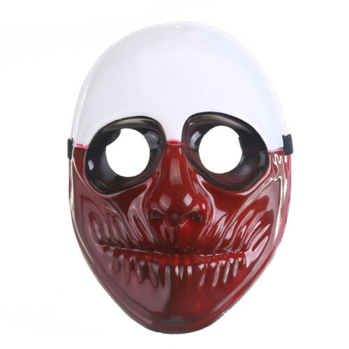 Halloween Fancy Party Prop Game Payday 2 Dallas Wolf Hoxton Cosplay Costume Mask