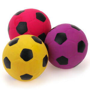 Chiwava-Pet-Squeaky-Latex-Football-Small-Dog-Toy-Puppy-Chew-Fetch-Throw-Ball-XS