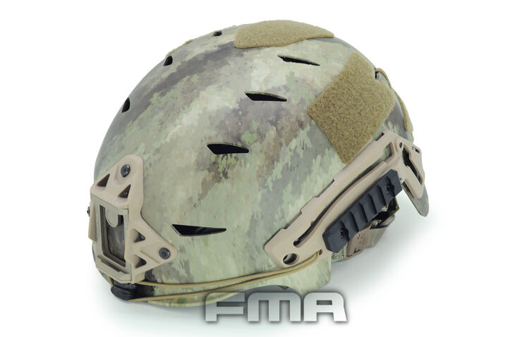 FMA airsoft paintball Tactical Projoector ABS A-TACS Camuflaje Casco TB791 Nuevo
