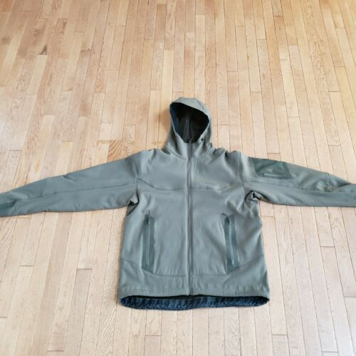Arcteryx Hooded Hercules Jacket Large Green