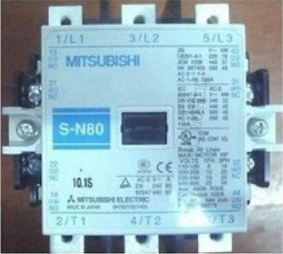SN80 200-240VAC free shipping NEW IN BOX MITSUBISHI Magnetic Contactor S-N80