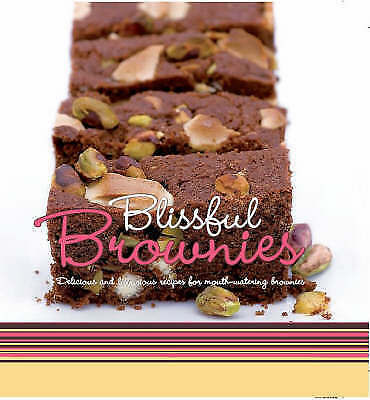 """""""AS NEW"""" , Blissful Brownies (Gourmet Collection), Hardcover Book"""