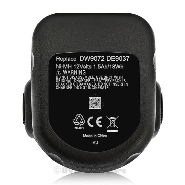 12V Ni-MH Battery Charger for DEWALT DC612KA DC614KA DC727KA DC742KA DC940KA