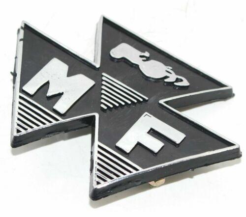 Front Motif Badge Black Massey Ferguson 35 FE35 Tractor 828136M1 CAD