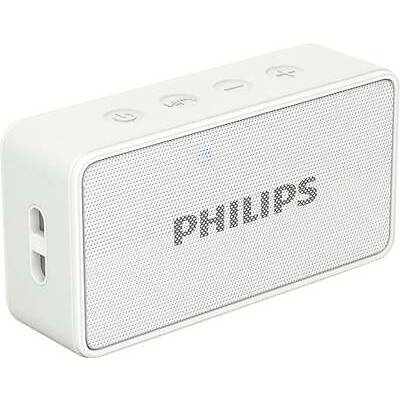 Philips BT64W/94 Portable Bluetooth Mobile/Tablet Speaker 9 Months Warranty