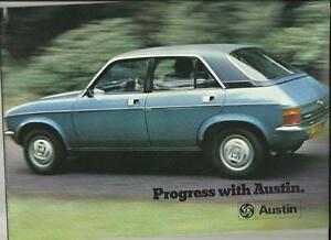 Austin Miniclubmangt Allegro 2 Maxi And Princess