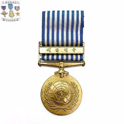 Marine Corps Korean War 4 Service Medal Set earned by USMC Forces in Korea