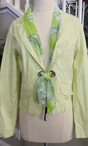 Stylish Women's of Jacket Lime Desing NWT Smukke Størrelse Italy Xl UEqFC