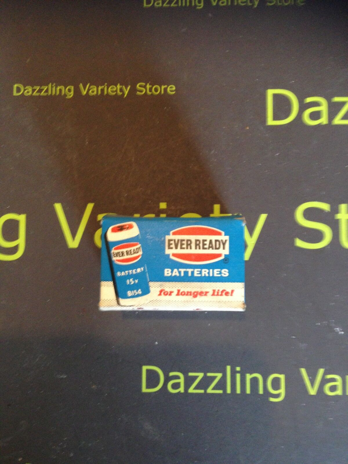 Vintage Ever Ready 12 x B154 Rare 15v Battery 70s Boxed Retro Retail Pack