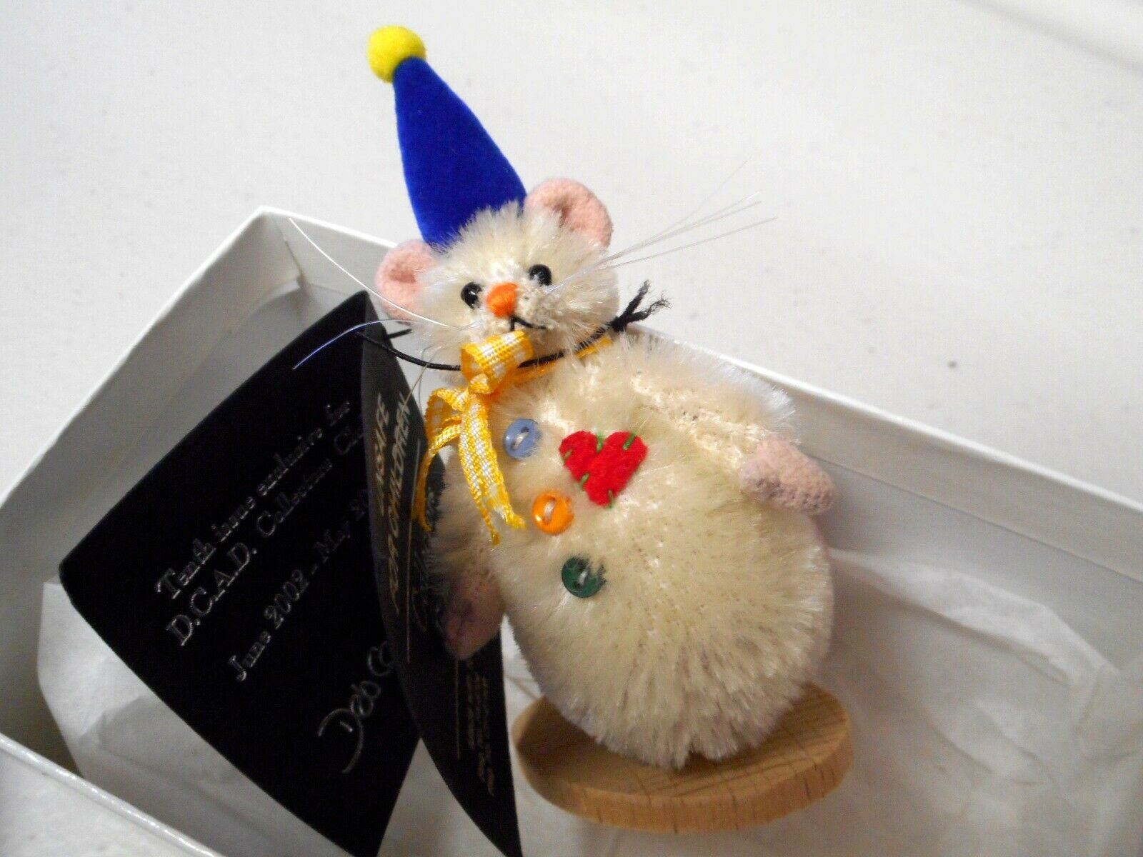 Deb Canham Snowmouse  10th Club Piece