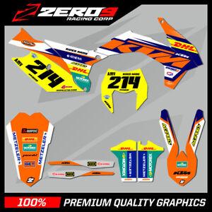 Details about KTM EXC/EXC-F 125-450 2008 - 2019 MOTOCROSS GRAPHICS MX  GRAPHICS KIT DHL ENDURO