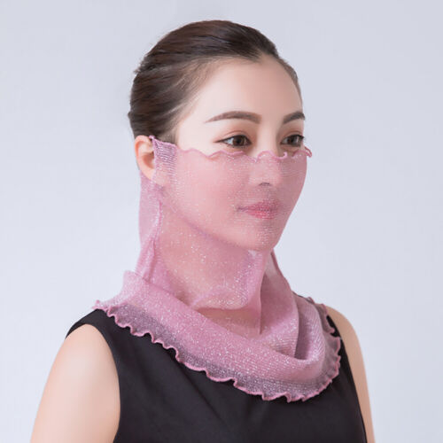Women/'s Sun Cover Scarf Polyester Outdoor Riding Face Neck Scarf Protection Hot