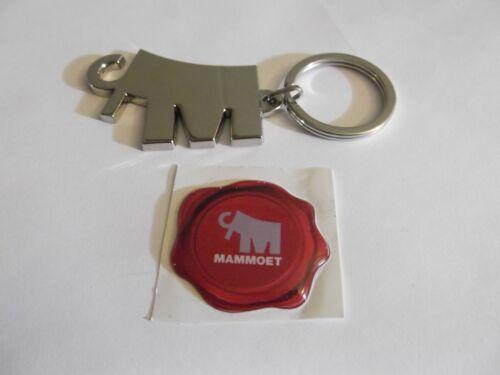 Rare Mammoet Keychain and Mammoet Sticker Oilfield Union Construction Crane 2