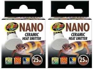 2-Pack-Zoo-Med-Nano-Ceramic-Heat-Emitter-25-Watt