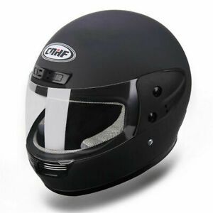 Motorradhelm-Rollerhelm-Jethelm-Farradhelm-MOTORRAD-Sturzhelm-HELMET-Mattschwarz
